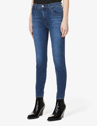 J Brand Alana skinny high-rise cotton-blend denim jeans