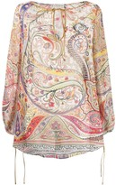 Etro paisley long-sleeve blouse