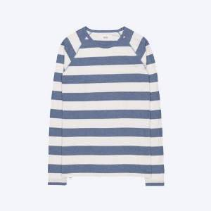 Makia Blue And White Keel Long Sleeve - XL - Blue/White