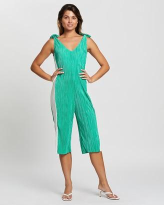 Glamorous Pleated Jumpsuit