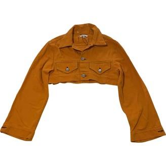 Ganni Orange Denim - Jeans Jackets