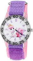Disney The Princess & The Frog Kids' W002839 Palace Pet Analog Display Analog Quartz Watch