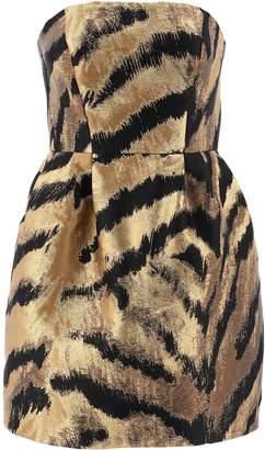 P.A.R.O.S.H. Sleeveless Animalier Mini Dress