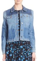 Rebecca Taylor Patchwork Denim Jacket