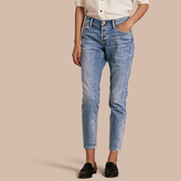 Burberry Relaxed Fit Stretch Indigo Jeans