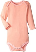 Kickee Pants One Piece (Baby) - Blush With Lotus - 0-3 Months