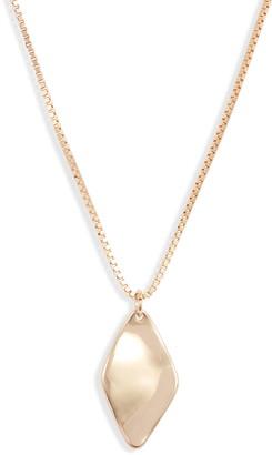Halogen Molten Pendant Necklace
