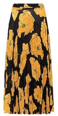 Gucci Printed pleated skirt