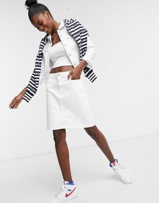 Tommy Hilfiger mini skirt in white