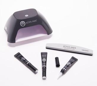 JOYA MIA Gel Manicure Kit with 3 Polishes & LED Dryer
