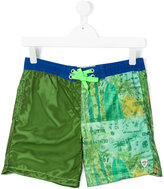 Vingino teen color block swim shorts - kids - Polyester - 16 yrs
