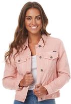 Wrangler Trucker Jacket Pink Denim Pink