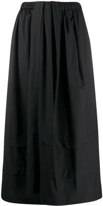 Christian Wijnants Tonal Panel Detail Skirt