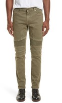 Belstaff Men's Eastham Tapered Moto Jeans
