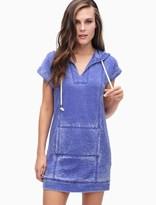 Splendid Burnout Active Hoodie Dress