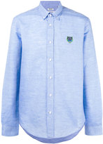 Kenzo Mini Tiger button down shirt - men - Cotton/Linen/Flax - S