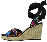 J. Renee Lace-Up Espadrille Wedge