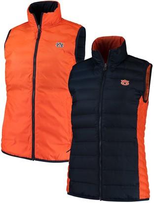 Columbia Women's Navy/Orange Auburn Tigers Lake 22 Reversible Puffer Vest