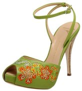 Giuseppe Zanotti Women's E90022 Ankle Strap Sandal