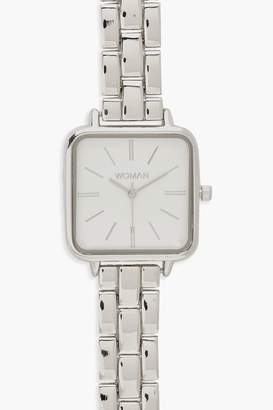 boohoo Square Face Bracelet Watch