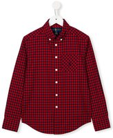 Ralph Lauren checked shirt - kids - Cotton - 12 yrs