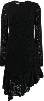 Philosophy di Lorenzo Serafini lace asymmetric hem dress