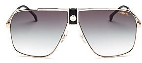 Carrera Unisex Top Bar Aviator Sunglasses, 63mm