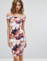 Wal G Off Shoulder Pencil Dress