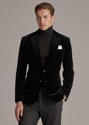 Ralph Lauren Gregory Velvet Dinner Jacket