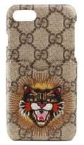 Gucci Cat Print GG iPhone 7 Case