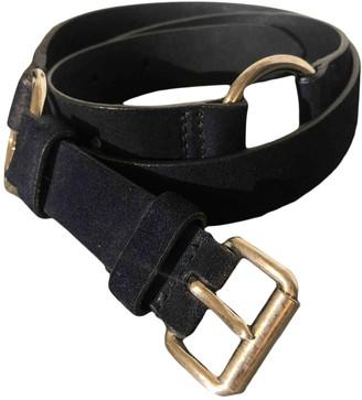 Miu Miu Blue Suede Belts