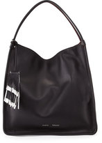 Proenza Schouler Large Soft Calfskin Tote Bag, Black