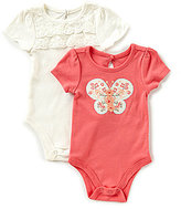Baby Starters Baby Girls 3-12 Months Bodysuit Two-Pack