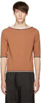 Telfar Brown Boatneck T-Shirt