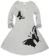 Little Spring LittleSpring Little Girls' Dresses Butterfly Size 6-7 US