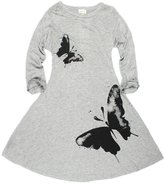Little Spring LittleSpring Little Girls' Dresses Butterfly Size 8-9 US