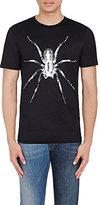 Lanvin Men's Spider-Print Cotton T-Shirt-BLACK
