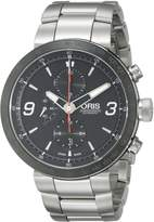Oris Men's 01 674 7659 4174 07 8 25 10 TT1 Chrono Dial Watch