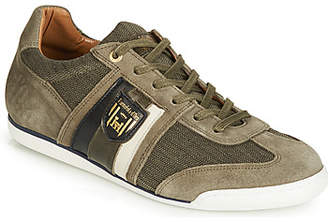 Pantofola D'oro IMOLA SCUDO DENIM UOMO LOW men's Shoes (Trainers) in Green
