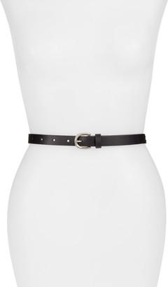 Treasure & Bond Double Whipstitch Leather Belt