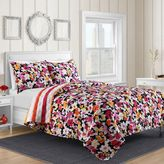 Shannon Reversible Quilt Set in Pink Floral