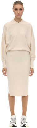 Sportmax Cashmere Knit Midi Dress