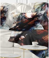 Collage Woman and Horse with Flying Eagle Lumbar Pillow East Urban Home