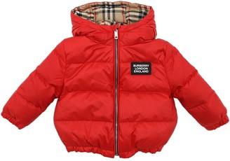 Burberry Reversible Nylon Down Jacket