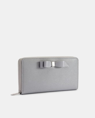 Ted Baker Bow Leather Matinee Purse