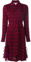 Diane von Furstenberg printed shirt dress - women - Silk/Spandex/Elastane - 4