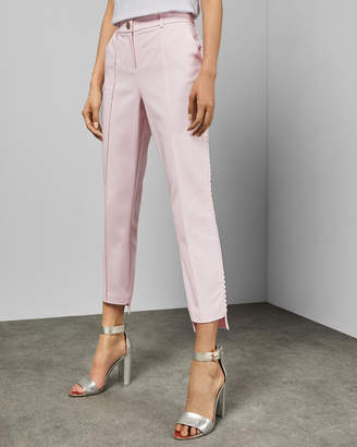 Ted Baker ONETTA Step hem scallop trim trousers