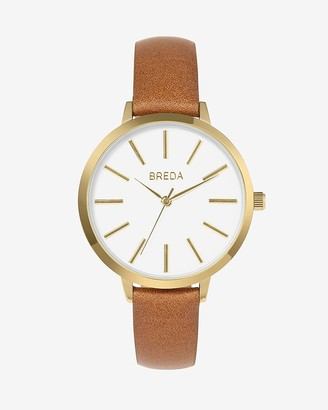 Express Breda Light Brown Joule Watch