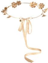 Eugenia Kim Athena Floral Crown, Golden