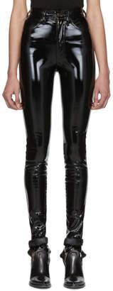 Maison Margiela Black Skinny Trousers